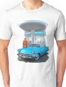 1957 Chevrolet Bel Air Day Unisex T-Shirt