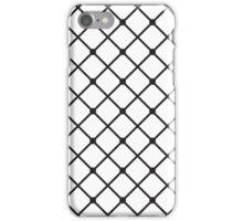 Cross hatch iPhone Case/Skin