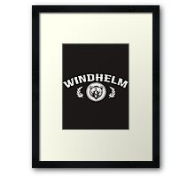 Skyrim 'Windhelm' Framed Print