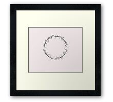 J. R. R. Tolkien - The Lord Of The Rings - Ring Inscriprtion Framed Print