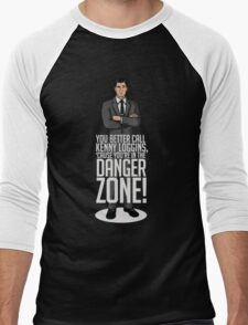 Archer - Cause You're in the Danger Zone! Men's Baseball ¾ T-Shirt