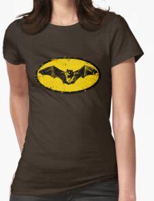 Bat logo  Womens Fitted T-Shirt