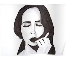 Lana in ink Poster