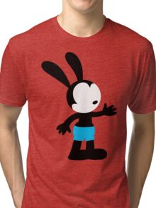Oswald the Lucky Rabbit Tri-blend T-Shirt