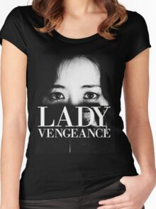 SYMPATHY FOR LADY VENGEANCE - PARK CHAN WOOK Women's Fitted Scoop T-Shirt