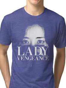 SYMPATHY FOR LADY VENGEANCE - PARK CHAN WOOK Tri-blend T-Shirt