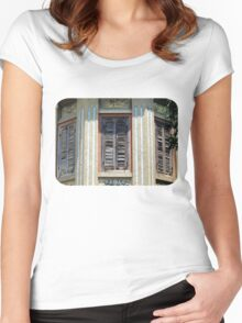 Shutters of the Golden Melon  Women's Fitted Scoop T-Shirt