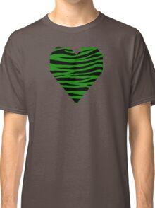 0318 India Green Tiger Classic T-Shirt