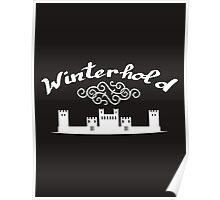 Skyrim 'Winterhold' Poster