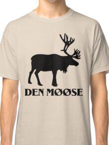The moose from Scandinavia fun Classic T-Shirt