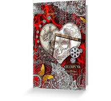 The Skull of Time Greeting Card