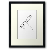 Mr Hare - drawing Framed Print