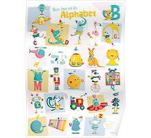ABC-German - Heute lerne ich das Alphabet Poster
