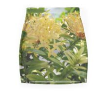 Barbados Spring Theme - Pink Ixora If you like, please purchase, try a cell phone cover thanks Mini Skirt