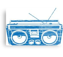 radio child of the eighties 1980 back to the future Metal Print