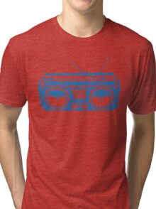 radio child of the eighties 1980 back to the future Tri-blend T-Shirt