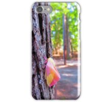 Rosy Maple Moth iPhone Case/Skin
