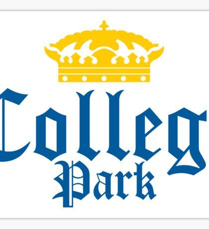 College Park Corona Sticker