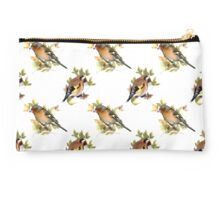 Goldfinch and Chaffinch design, vintage.  Studio Pouch