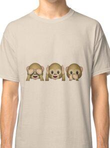 See No Evil, Hear No Evil, Speak No Evil Classic T-Shirt