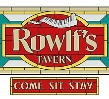 "Rowlf's Tavern ""Come. Sit. Stay."" by Kenny Durkin"