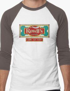"Rowlf's Tavern ""Come. Sit. Stay."" Men's Baseball ¾ T-Shirt"