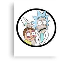 Rick And Mortyy Canvas Print