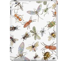 Creepy crawlies iPad Case/Skin
