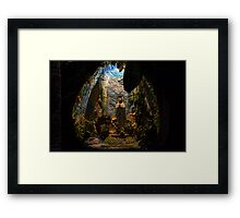 Holy Virgin Mary Grotto Framed Print