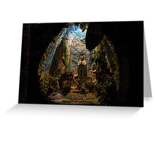 Holy Virgin Mary Grotto Greeting Card