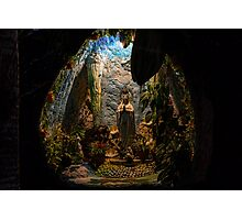 Holy Virgin Mary Grotto Photographic Print