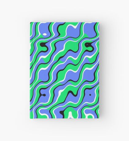 Placid Waves Hardcover Journal