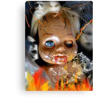 Evil Doll Canvas Print