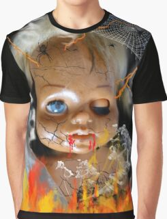 Evil Doll Graphic T-Shirt