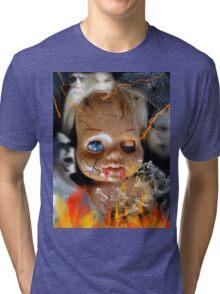 Evil Doll Tri-blend T-Shirt
