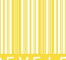 Javascript Developer Barcode - White Sticker
