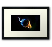 Earth Water Fire Framed Print