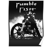 RUMBLE FISH - MICKEY ROURKE Poster