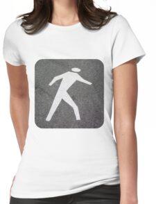The Pedestrian Womens Fitted T-Shirt