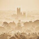 Canterbury Through The Mist by Ian Hufton