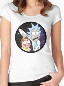 Rick and Mortyy 2. Women's Fitted Scoop T-Shirt