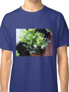 Green Blossoms Classic T-Shirt