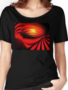 Ruby Sunset Women's Relaxed Fit T-Shirt