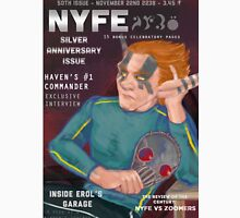 Erol on the cover of NYFE Magazine  Unisex T-Shirt