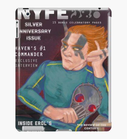 Erol on the cover of NYFE Magazine  iPad Case/Skin