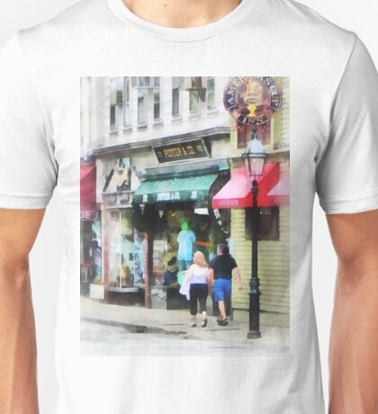 Newport RI - Mary Street Unisex T-Shirt