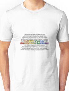 LGBT Fans Deserve Better || Names Unisex T-Shirt
