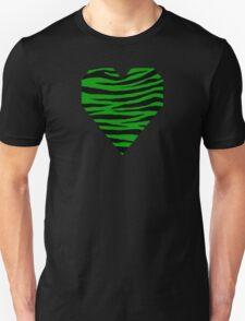 0326 Islamic Green Tiger Unisex T-Shirt