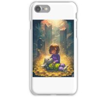 Undertale unofficial case and stickers and etc iPhone Case/Skin