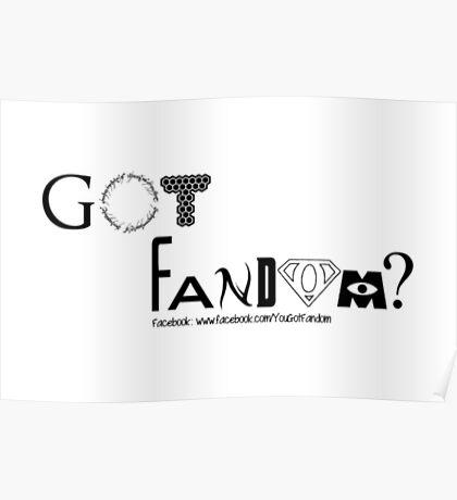 Got Fandom Facebook Page Poster
